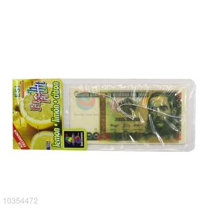 Good quality top sale paper currency shaped car air freshener