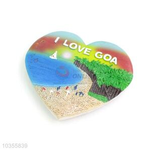 Best Quality Heart Shape Colorful Fridge Magnet
