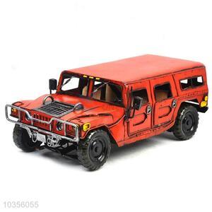 Popular hot selling red Hummer model