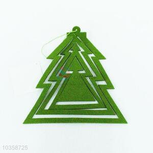 High quality green felt cloth pendant for home decorations