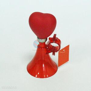 Factory price red loving heart shape loudspeaker