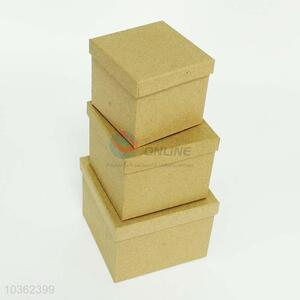 3 Pieces Square Gift Box