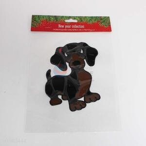 Dog Pattern PVC Sticker Festival Home Decorations