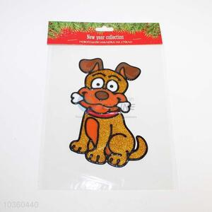 Lovely Dog Design Window Sticker Home Decoration