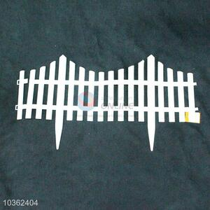 Classical best white fence rail