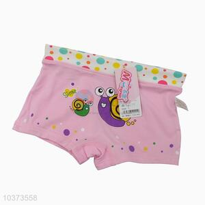 Lovely design custom girl's underwear