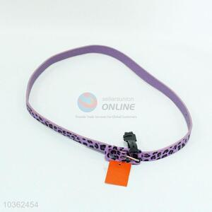 New and Hot Purple PU Belt for Sale