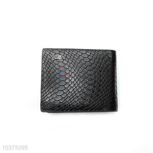 High Quality Black Folding Purse&Wallet for Men