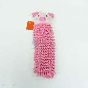 Lovely pig cartoon microfiber kitchen hand towel