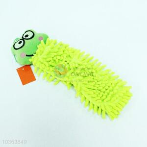 Good quality green hand towel,32*8cm
