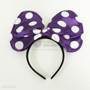 Mickey head hoop with lamp Violet