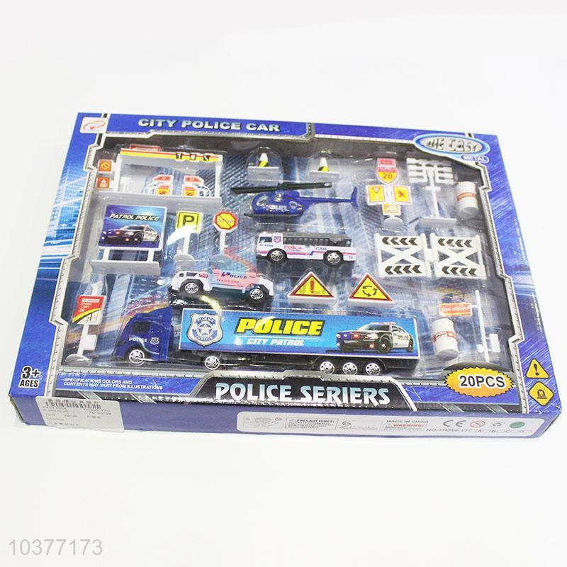 New Arrival Toy Control Mini Police Cars Toys For Kids