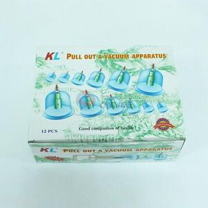 12pcs Pull Out A Vacuum Apparatus Cupping Equipments of Traditional Chinese Medicine
