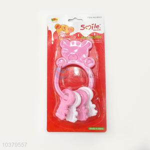 Low price key model baby rattle toys
