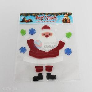 Factory Supply Jelly Christmas Window Sticker for Sale