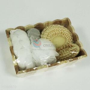 Hot Selling Wooden Bath Gift Set