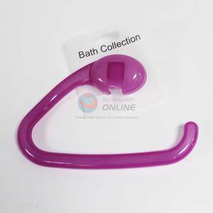 Good quality purple plastic hook for bathroom