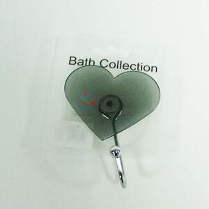Hot sale heart shaped plastic hook,7cm
