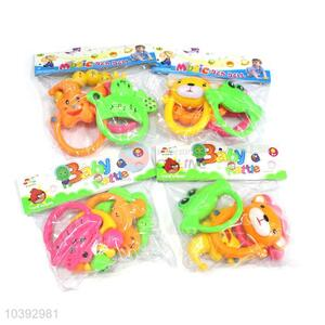 Promotional Gift Educational Plastic Rattle Toys for Baby