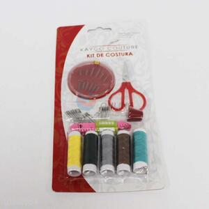Useful Needle/Thread/Scissors/Tape Measure/Paper Clip Set