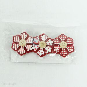 Wholesale Popular 3PC Christmas Wooden Clip