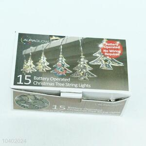 Factory Sales 15 LED Lights Holiday Decoration