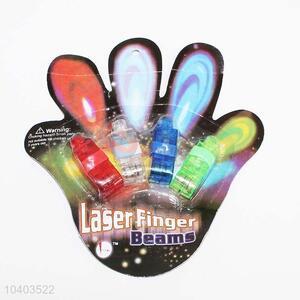 Hot sale party led flashing light laser finger