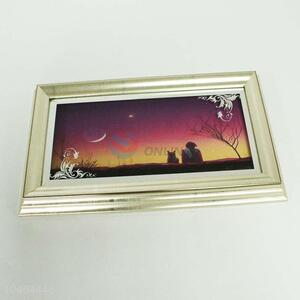 Superior Quality Bedroom Wall Hung Painted Photo Frame