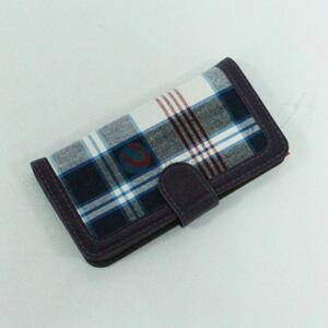 Wholesale Grid Polyester Mobile Phone Shell