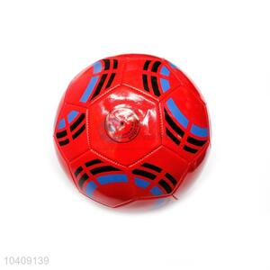 Promotional Red Indoor/Outdoor PU Football for Sale