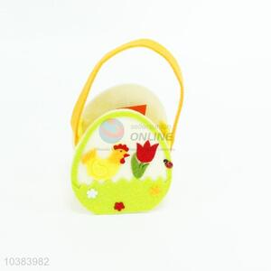 Non-woven Easter Basket Storage Basket for Kids