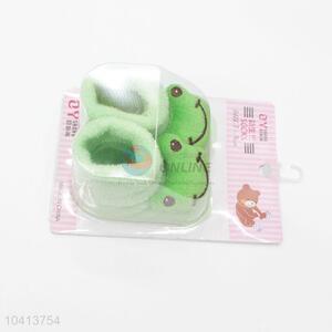 3D Frog Head Cotton Kids Baby Sock