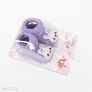 3D Rabbit Head Cotton Kids Baby Sock
