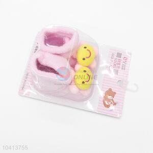 3D Sunflower Head Cotton Kids Baby Sock