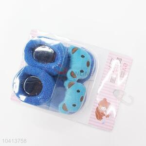 3D Bear Head Cotton Kids Baby Sock