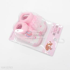 Wholesale  Pink Cotton Kids Baby Girl Sock