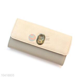 Super quality promotional triple-folded women wallet