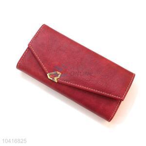 Wholesale triple-folded women purse women pouch