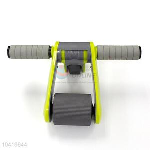 Low price folded fitness wheel for abdomen