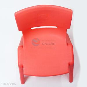 New Arrival Wholesale Red Color Clear Children Chair BABY Chair