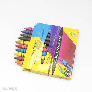 High Quality Kids 12 Colors Non-toxic Crayon