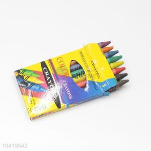 8 Colors Non-toxic Crayon for Kids Drawing