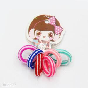 Wholesale New Product Colorful Hair Rings Set