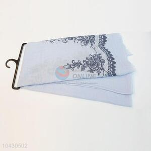 Shawl Cotton Flower Printed Scarf