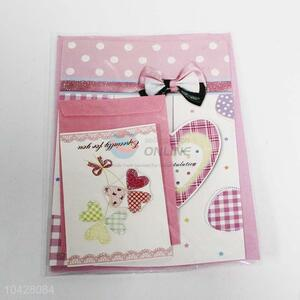 Hot Selling Pink Festival Greeting Card