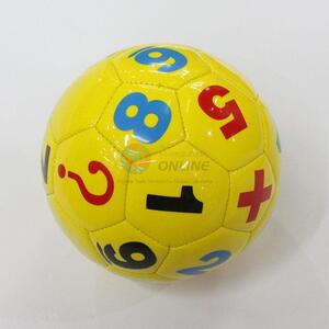 Cute Mini Numbers Printing Football with Good Quality