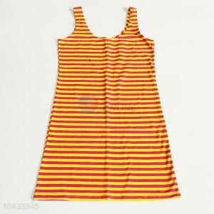 Factory Excellent Stripe Singlet for Woman