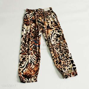 Fashion women leopard printing pants