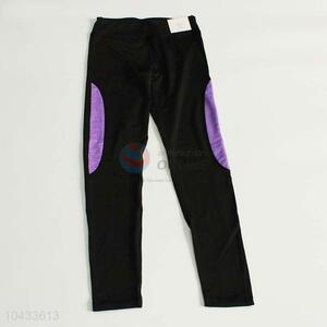 Top grade custom women casual elastic pants