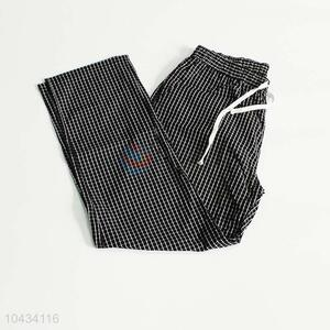 Best low price black lattice pattern trouser